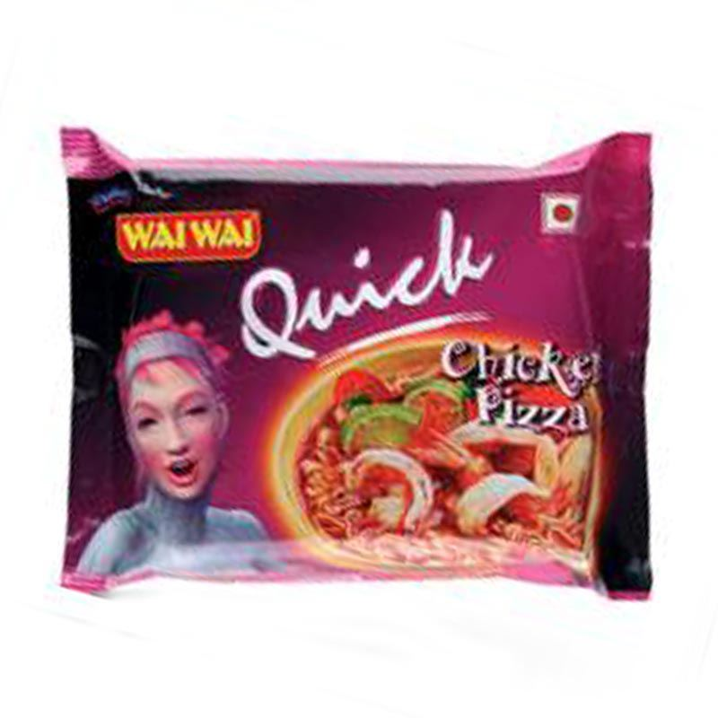 Wai Wai Quick Chicken Pizza (30 Packets)