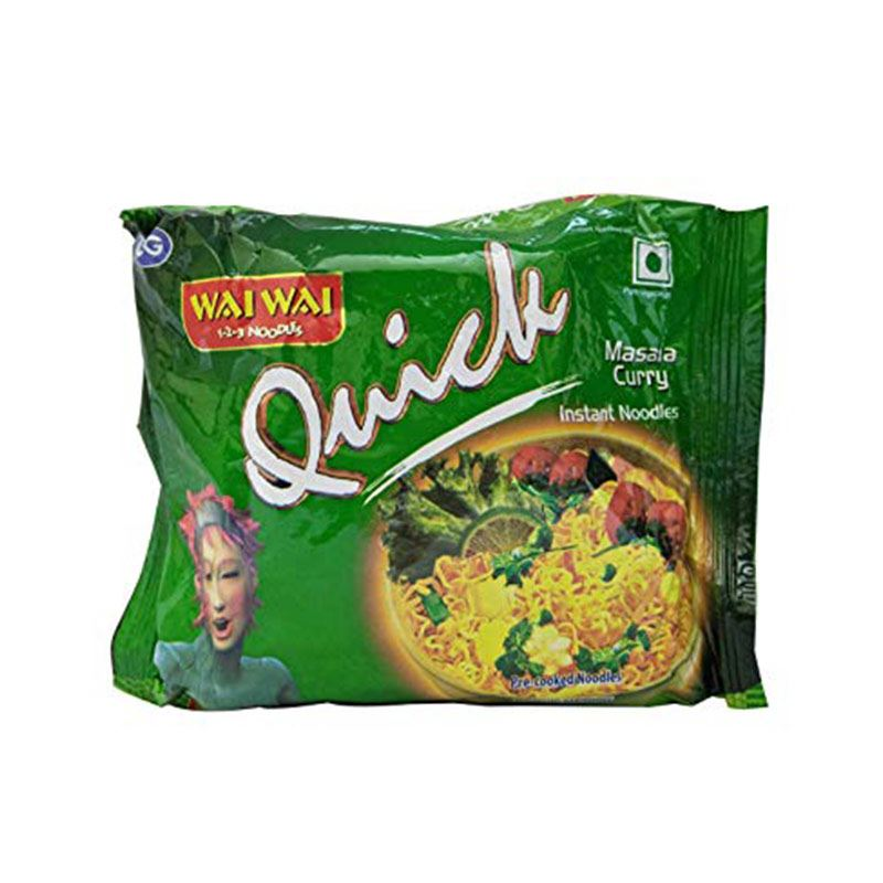 Wai Wai Quick Masala Curry (30 Packets)