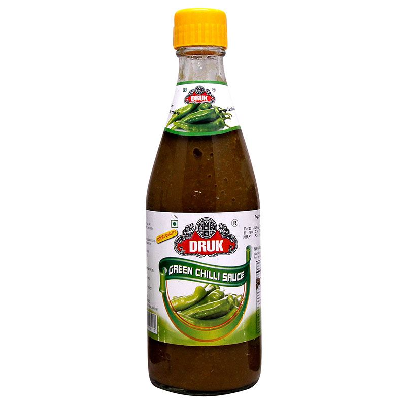 Druk Green Chilli Sauce (500g)