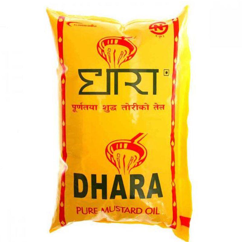 Dhara Pure Mustard Oil (1L)