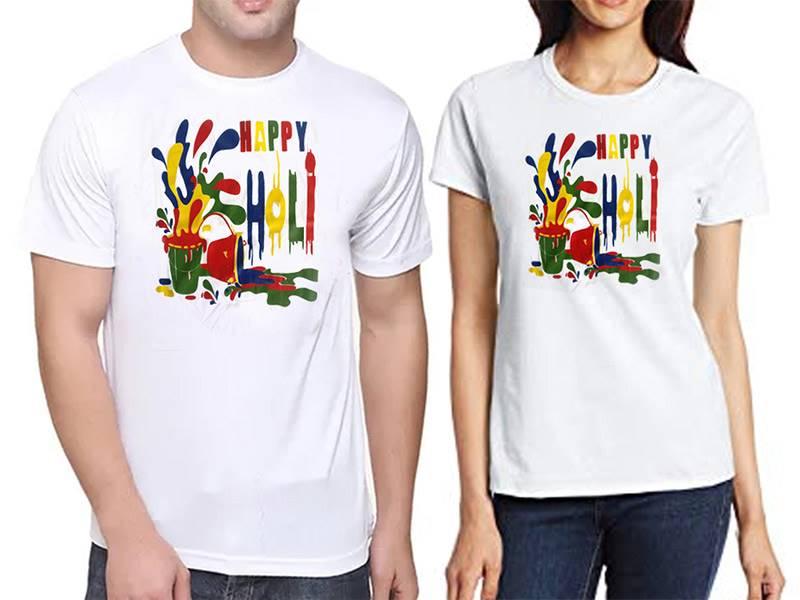 Unisex Holi T-shirt-A (Qty 1)