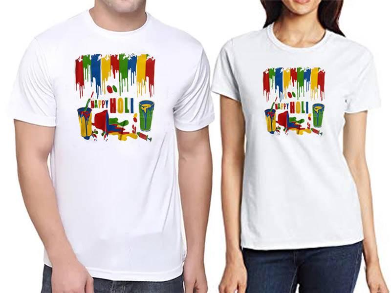 Unisex Holi T-shirt-B (Qty 1)