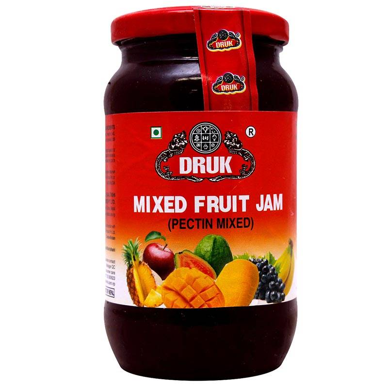 Druk Mixed Fruit Jam (500g)