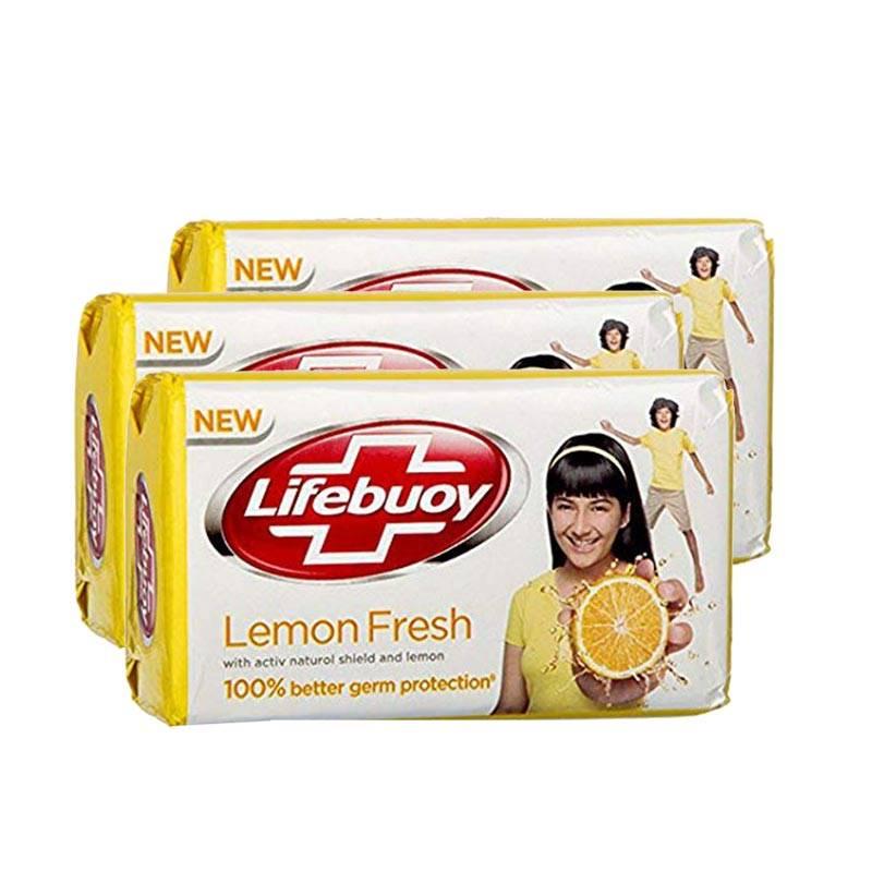 Lifebuoy Lemon Fresh Soap Bar (100g) (3p)