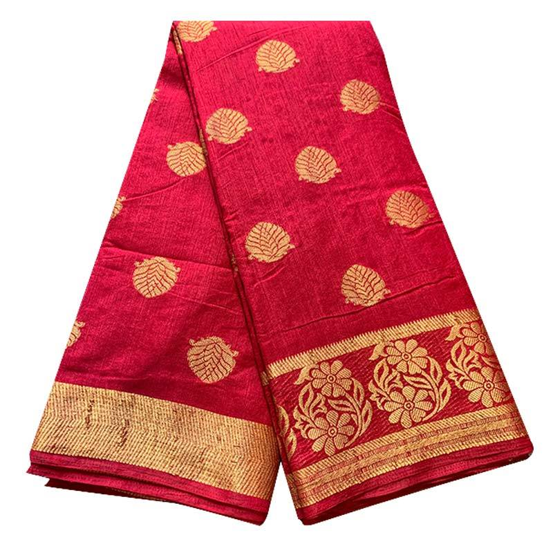 Khadi Silk Saree 2-5