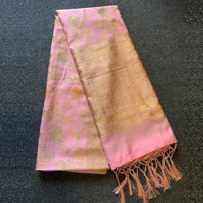 Chanderi Silk Saree 7-1