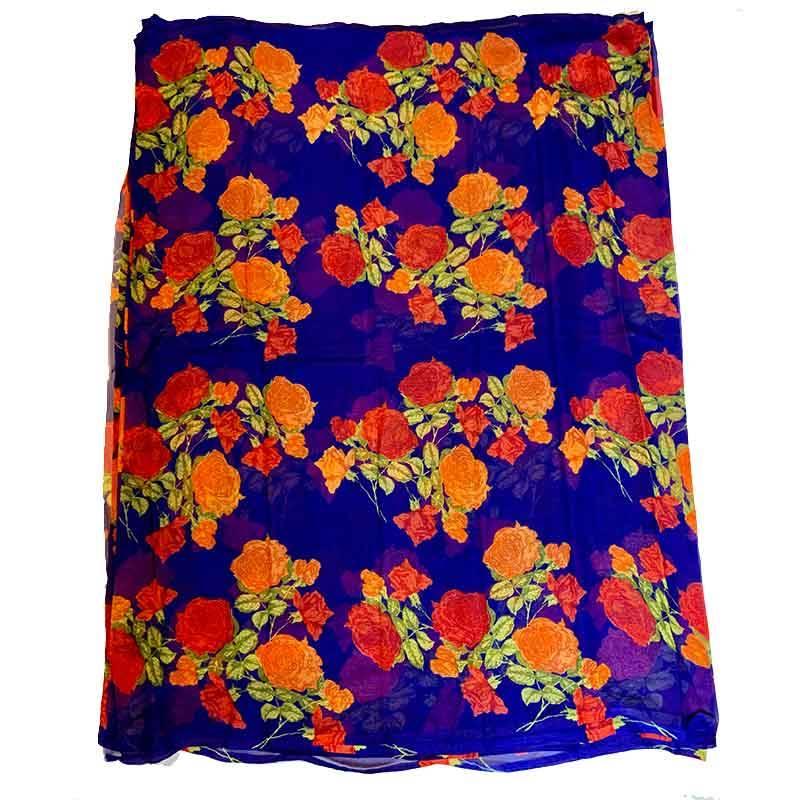 Printed Chiffon Saree 2-4-6