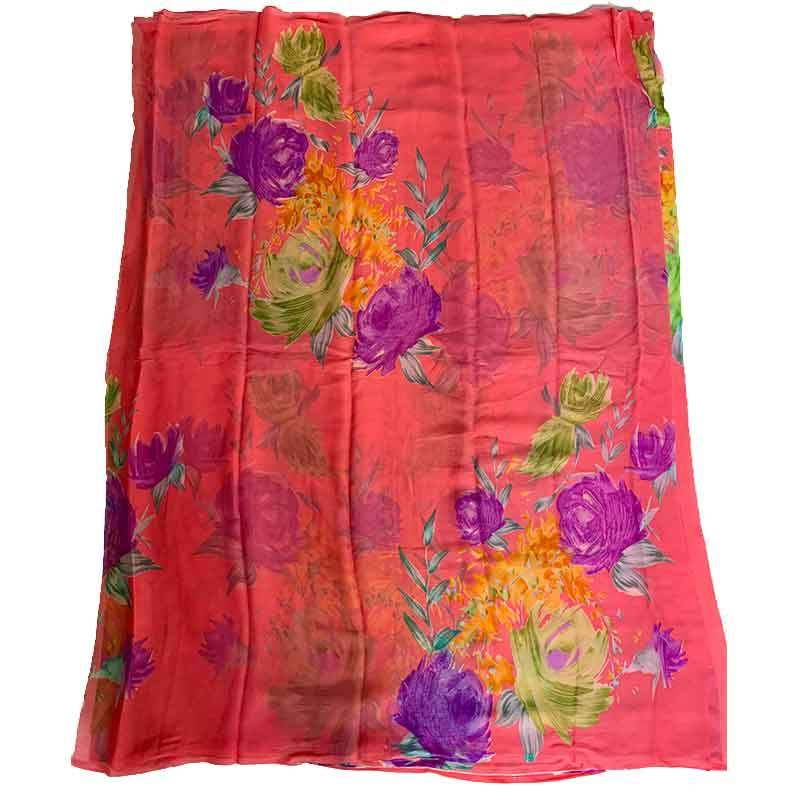 Printed Chiffon Saree 2-4-10