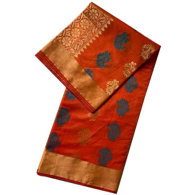 Chanderi Cotton Saree 2-12-1