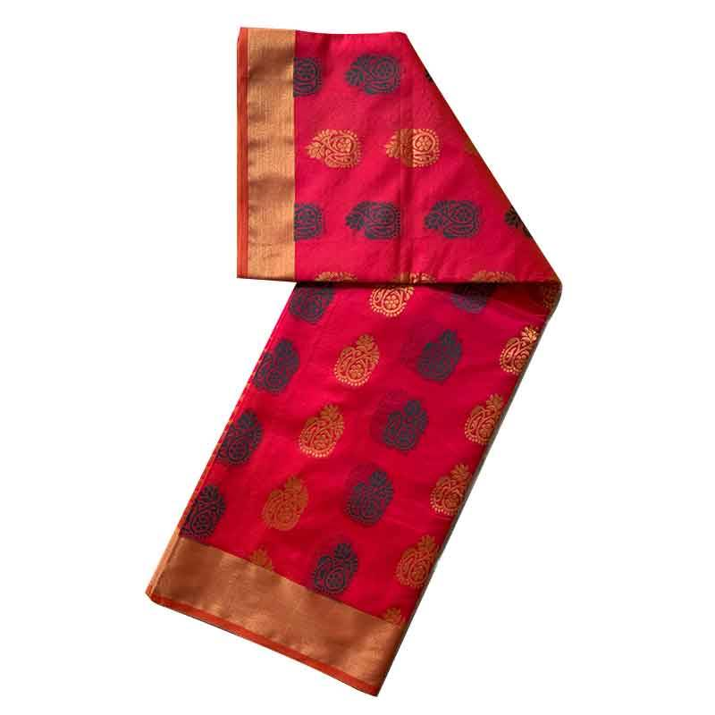 Chanderi Cotton Saree 2-12-2