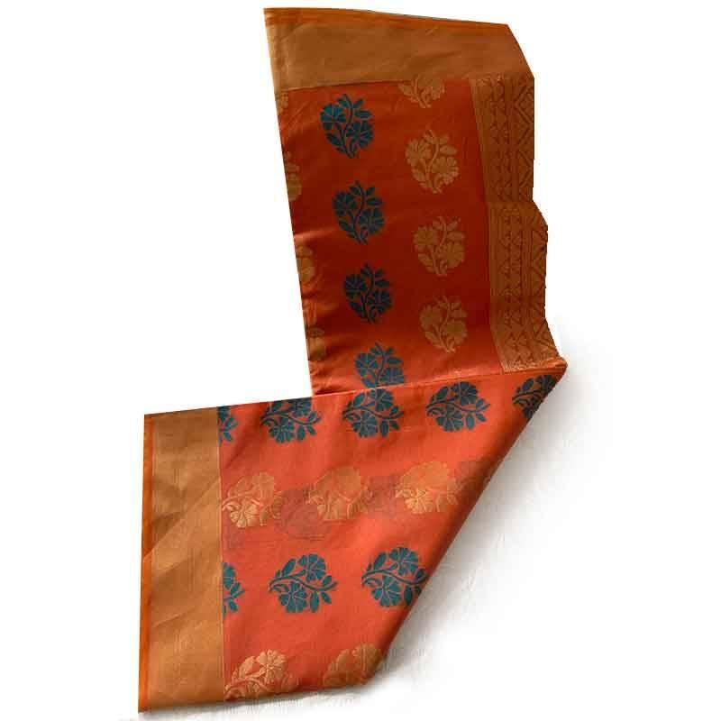Chanderi Cotton Saree 2-12-4
