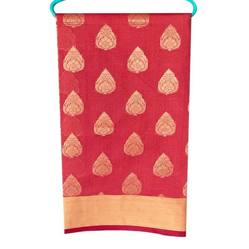 Chanderi Cotton Saree 2-13-1