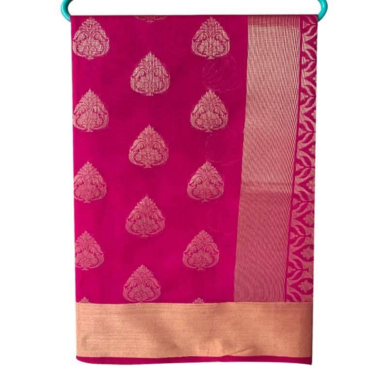 Chanderi Cotton Saree 2-13-2