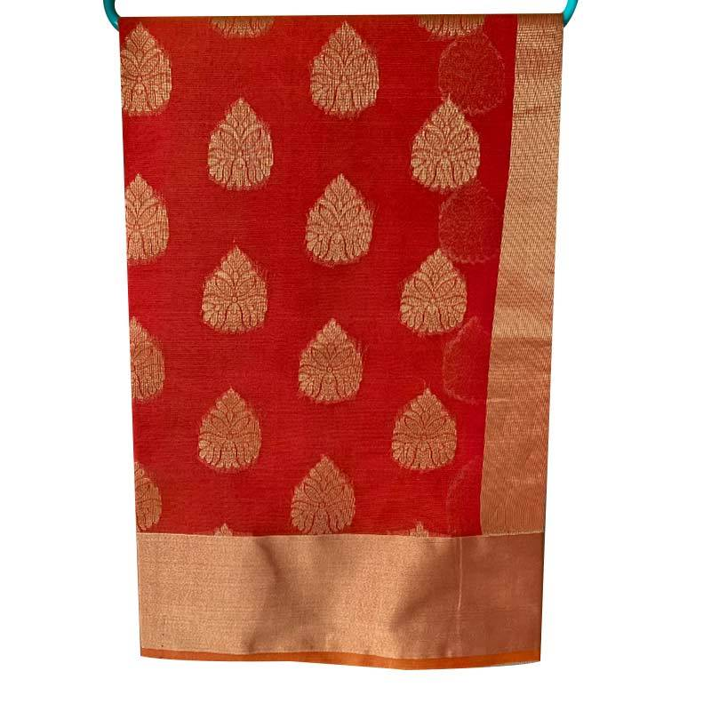 Chanderi Cotton Saree 2-13-5