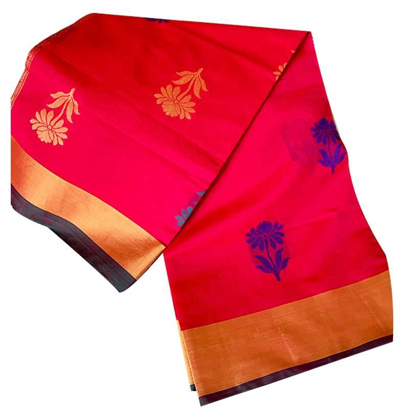 Chanderi Cotton Saree 2-14-2