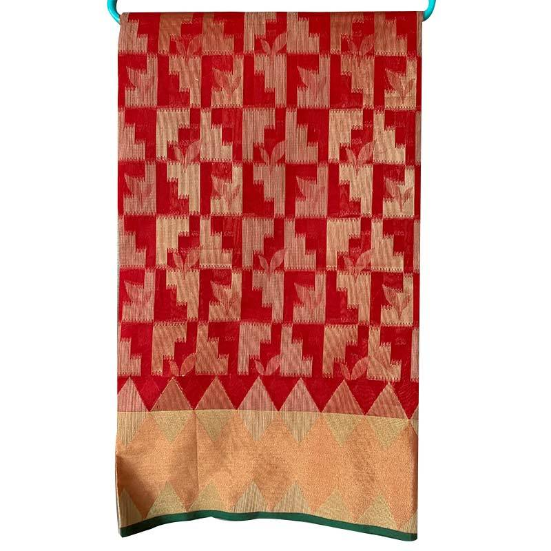 Chanderi Cotton Saree 2-16-1
