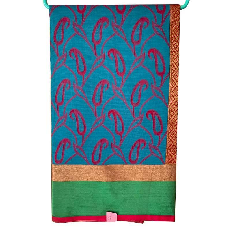Chanderi Cotton Saree 2-17-1