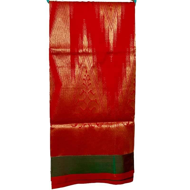 Chanderi Cotton Saree 2-15-2