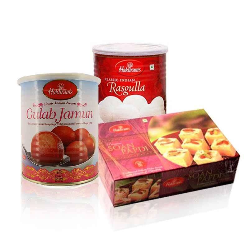 Haldiram Sweets Package