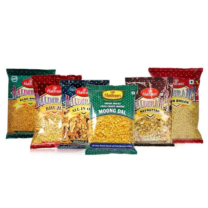 Haldiram Namkeen Snacks Package