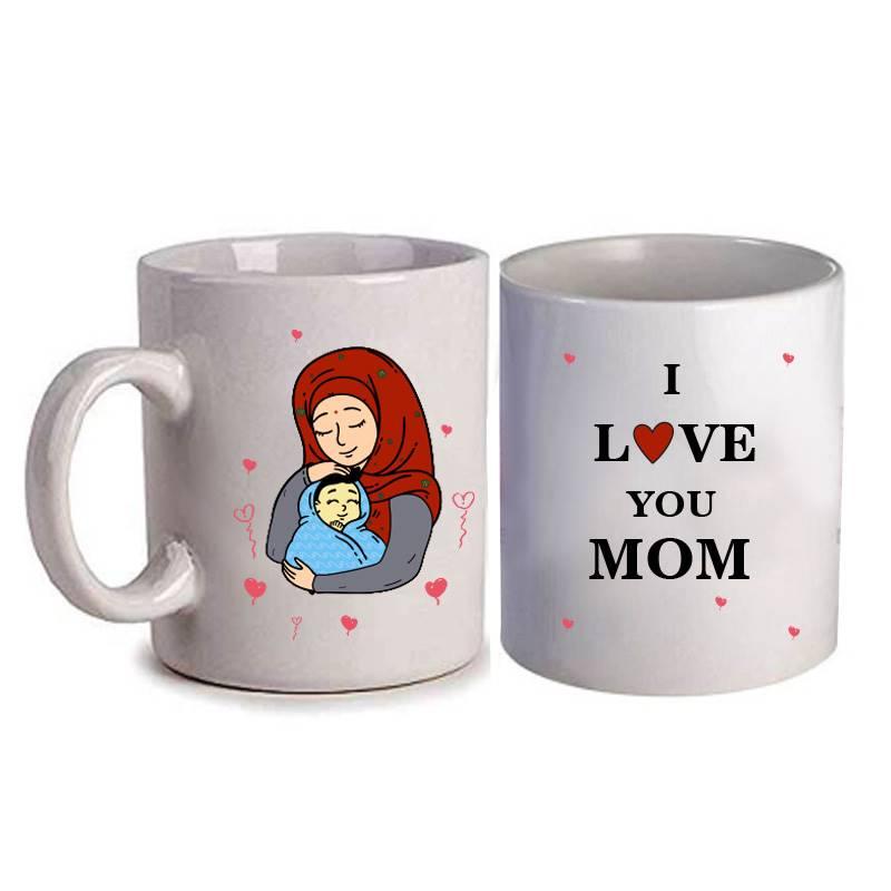 I Love You Mom Mug (Qty 1)