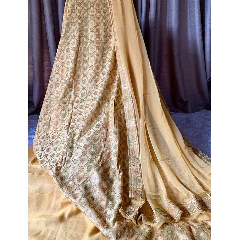Chanderi Silk Kurta 2-15-3