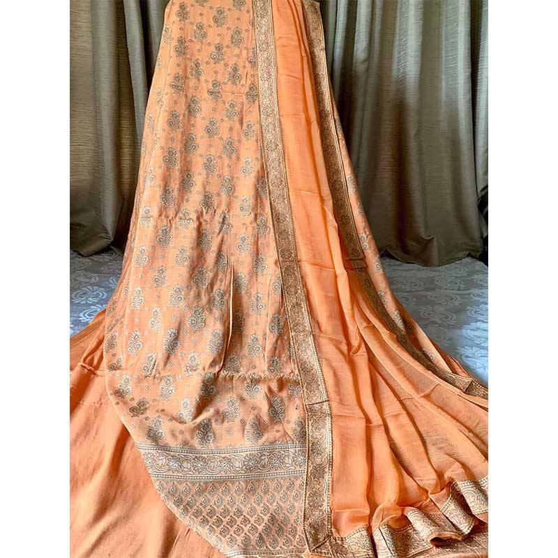 Chanderi Silk Kurta 2-17-1