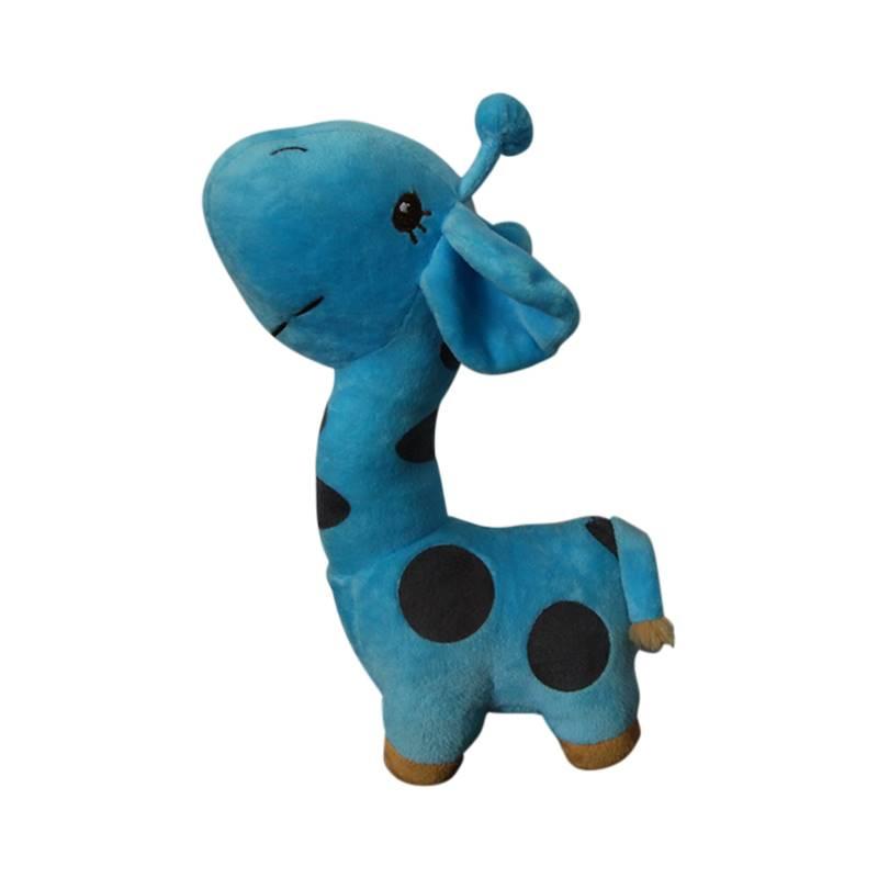 Blue Giraffe Soft Toy