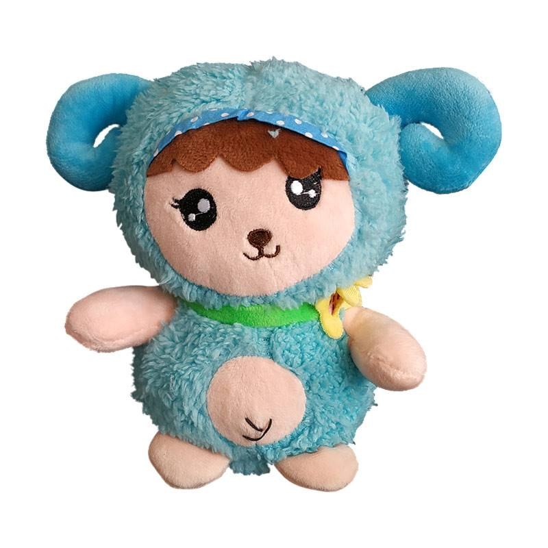 Blue Butterhorn Soft Toy