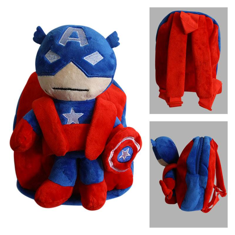Captain America Plush Backpack