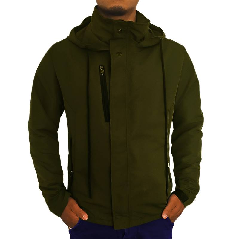 Army Green Windcheater