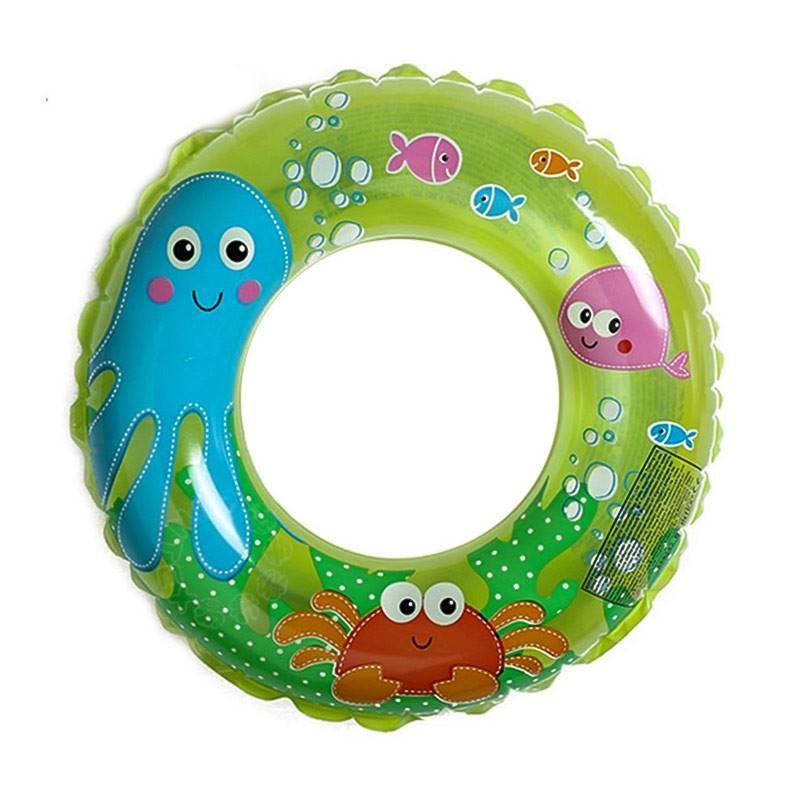 "Intex Octopus 24"" Inflatable Transparent Ring Swim Tube"