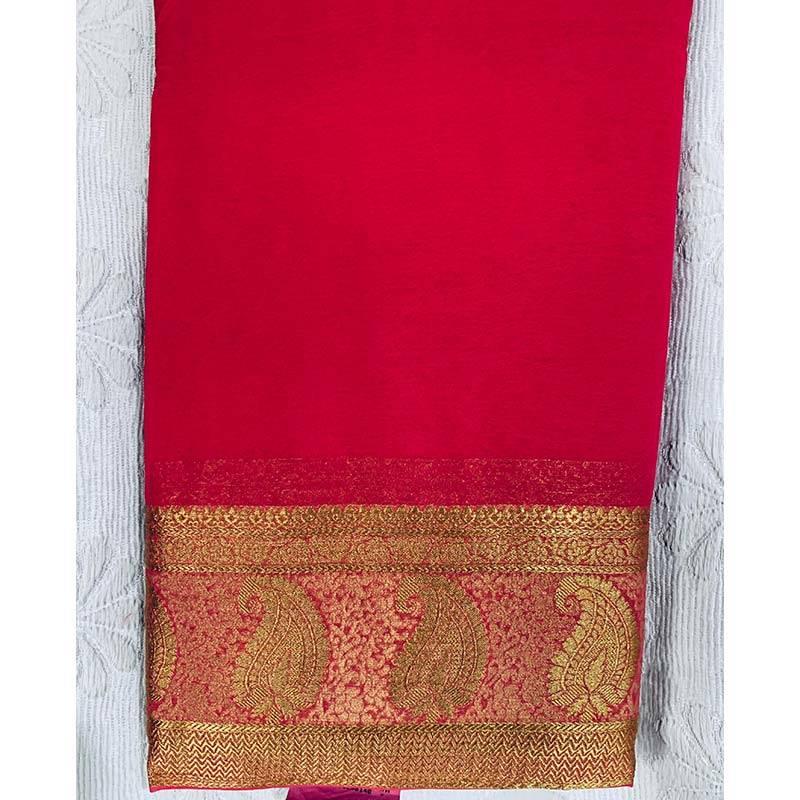 Chiffon Sari 5-11