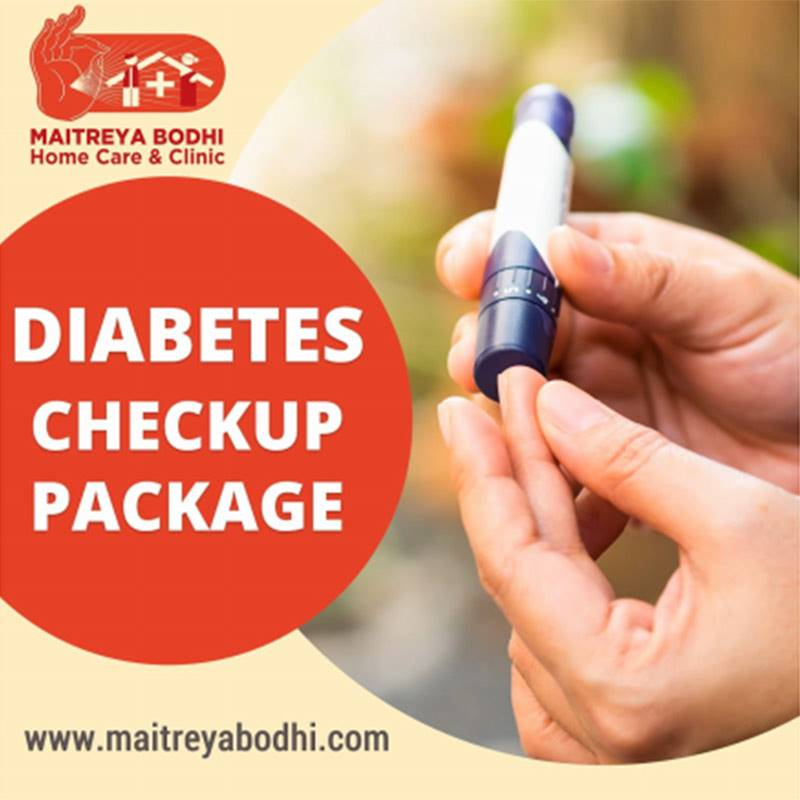 Diabetes Checkup Package At Clinic (Covid-19 Special Package)