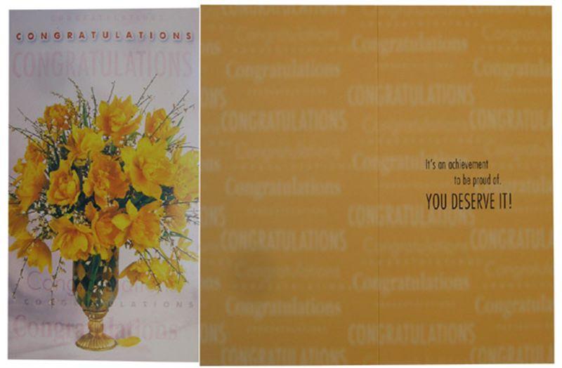 Congratulations Card (rc000019)