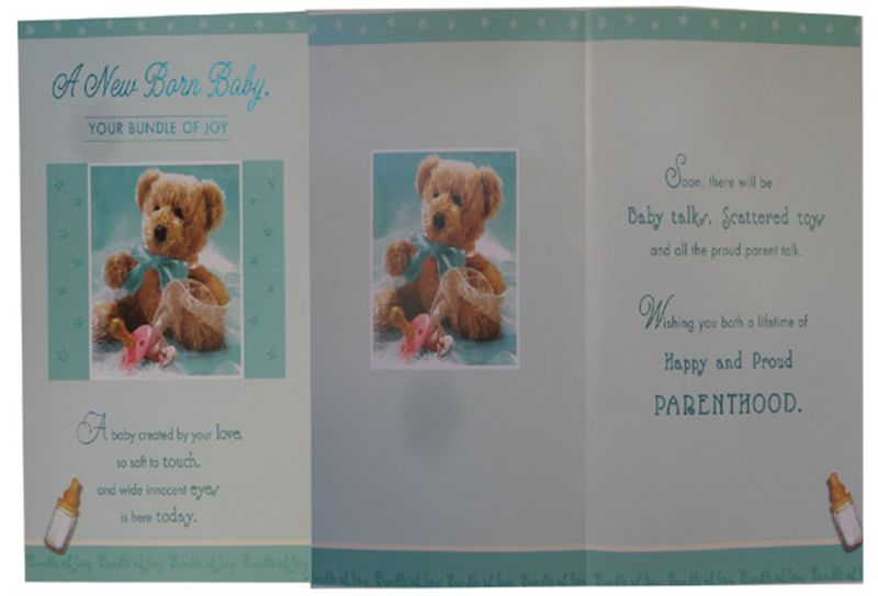 Congratulations Card on a new born (rc000023)