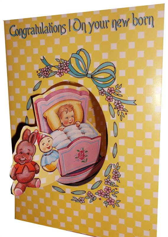 Congratulations Card on a new born (rc000024)