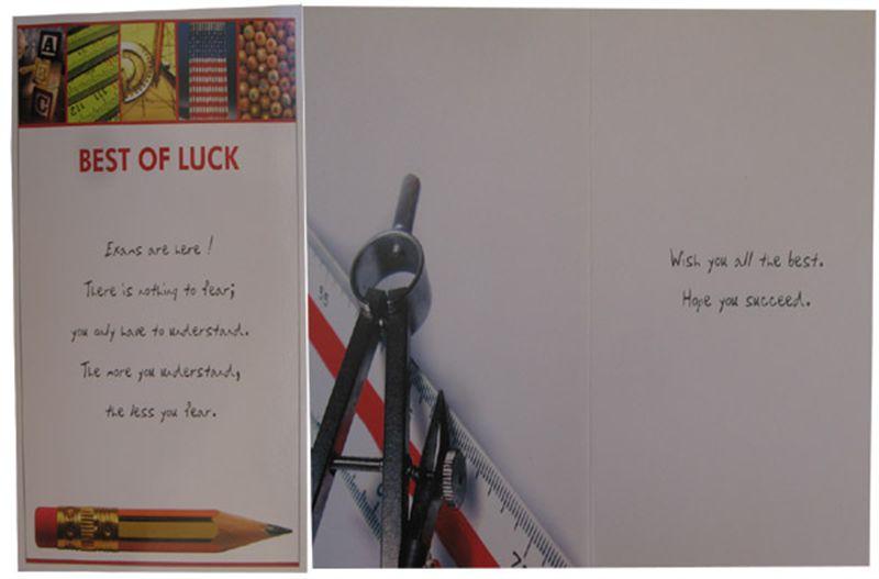 Good Luck Card (rg200008)