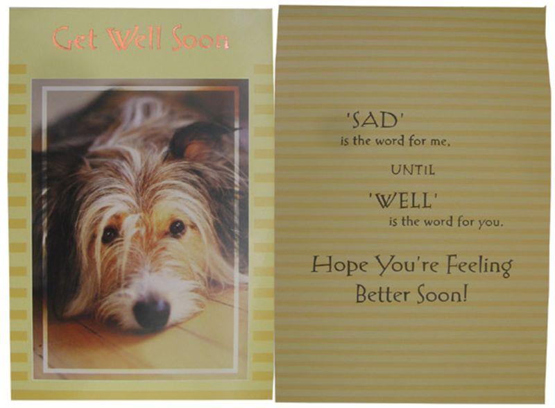 Get Well Soon Card (rgg00021)
