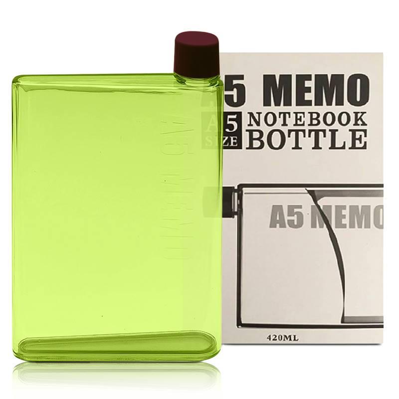 A5 Memo Size Notebook Bottle
