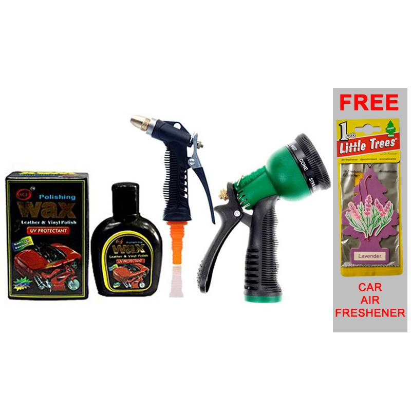 Car Wash Package with Free Car Freshener