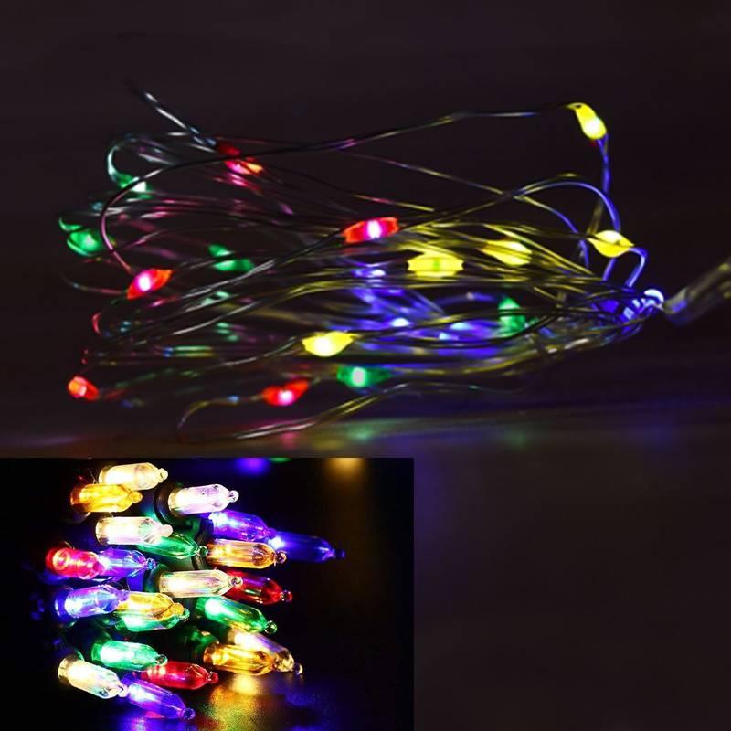 100 LED Capsule Rice Lights