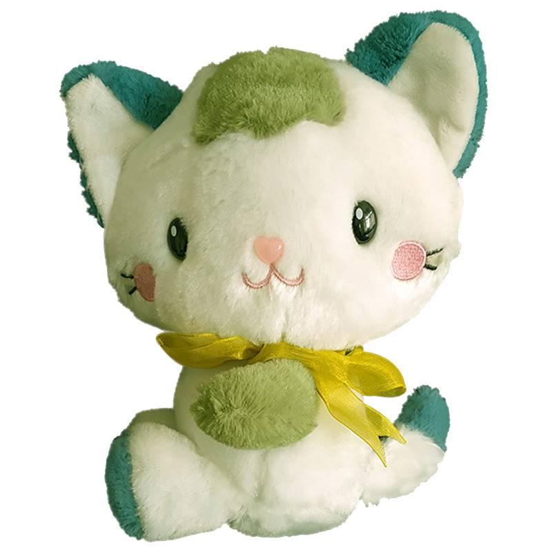 Big Green Kitty Soft Toy