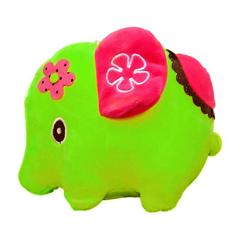 Green Elephant Soft Toy