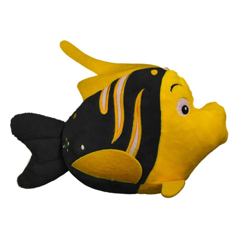 Black Flounder Soft Toy