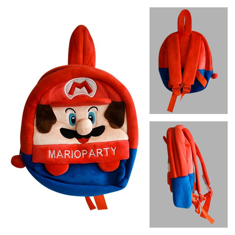 Mario Party Plush Backpack