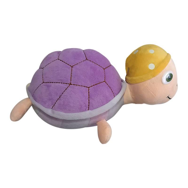 Purple Tortoise Soft Toy
