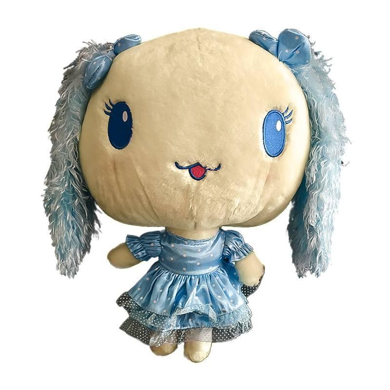 Big Head Blue Doll Soft Toy