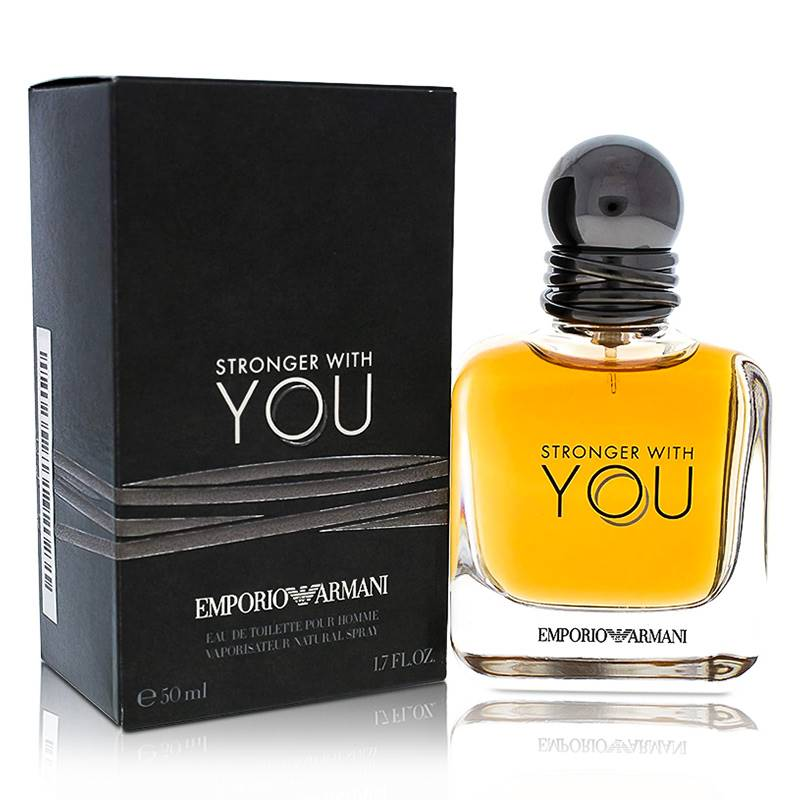 Emporio Armani Stronger with You EdT (50 ml) for Men (Ref. no.: 040281)