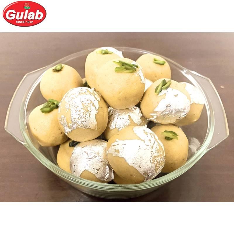 Besan Plain Laddoo (500 g) from Gulab